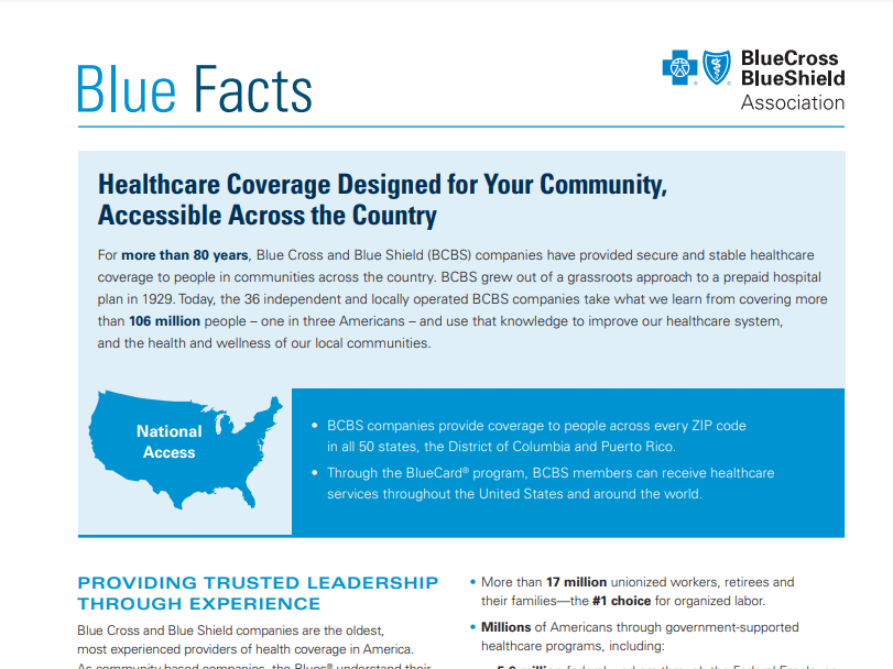 Blue Cross Blue Shield Agent Resources - Plans And Client ...